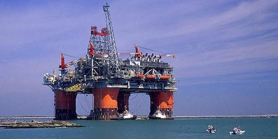 Shell: plataforma en el Mar del Norte