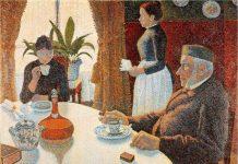 Signac: el desayuno, 1886-1887
