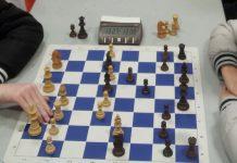 Tablero club de ajedrez Olivet