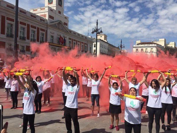 Tauromaquia es Violencia, manifestación en Madrid el 26 de mayo de 2018