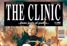 """Portada de la revista The Clinic dedicada al """"milicogate"""""""
