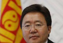 Tsajiagiin Elbegdorzh, presidente de Mongolia. Wikimedia