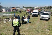 Tultepec pirotecnia policia