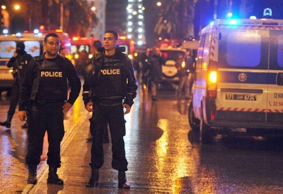 Atentado terrorista contra la policía en Túnez