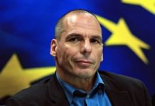 Yannis Varoufakis en la etapa de ministro de Economía de Grecia
