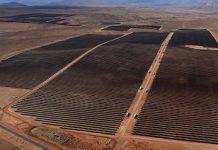 Instalaciones de el Romero Solar de Acciona en Chile