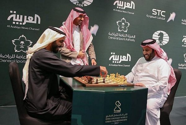 Apertura del torneo Rey Salman en Riad.