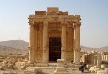 Templo de Baal derruido por el Dáesh en Palmira
