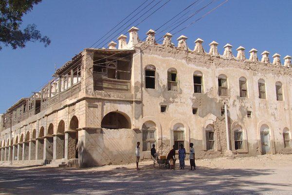 Edificio antiguo en Berbera
