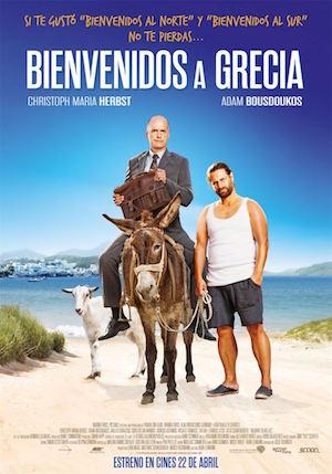 Bienvenidos a Grecia, cartel