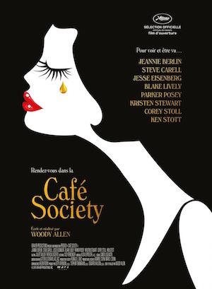 Cafe Society, cartel de la última película de Woody Allen