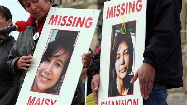 Movilizaciones por las mujeres indígenas desaparecidas en Canadá