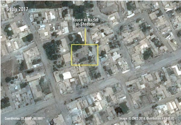casa familia Badran antes ataque