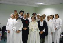 """Conrado Granado caracterizado como Lope de Vega para la representación teatral """"Las mujeres de Lope"""""""