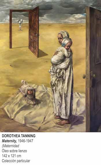 dorothea tanning 5 Maternity