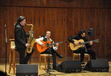 Jorge Pardo, Pepe Habichuela, Josemi Carmona. Auditorio Nacional de Madrid. Foto CNDM