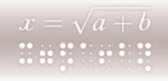 Discapacidad Visual: Nace Edico, el primer editor matemático accesible