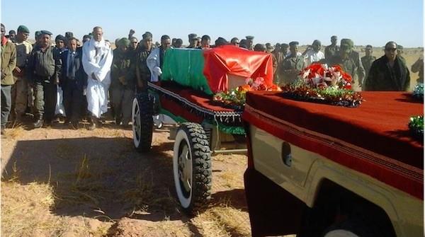 Mohamed Abdelaziz, entierro