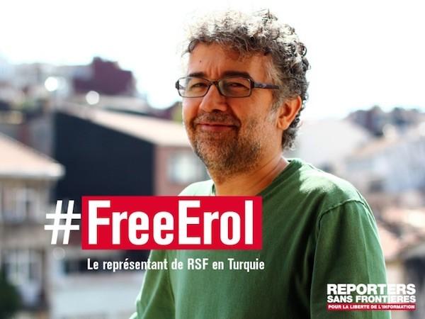 Campaña por la libertad de Erol Önderoglu
