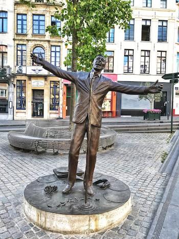 estatua Brel de Tom Frantzen