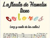 Portada de La flauta de Hamelin tiene colores