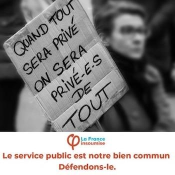 francia insoumise privatizaciones