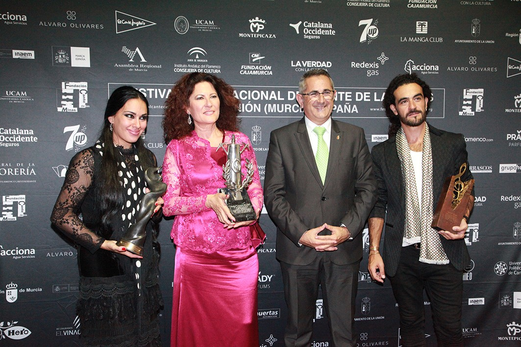 Cante de las Minas 2016; Premiados y no premiados