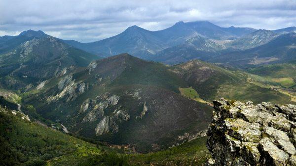 Fotografía de los picos del Geoparque Villuercas Ibores Jara en Cáceres, Extremadura