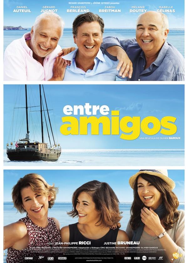 """Cartel de """"Grandes familias"""""""