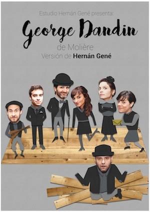 Hernán Gené: George Dandin, cartel