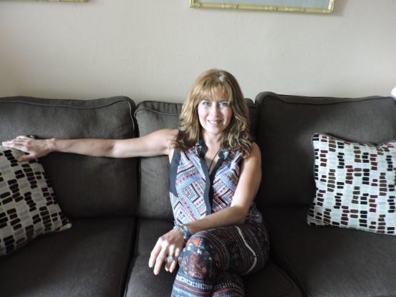 Sully Díaz en un momento de la entrevista con Adriana Bianco