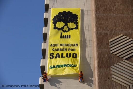 Greenpeace-carbon-Sevilla