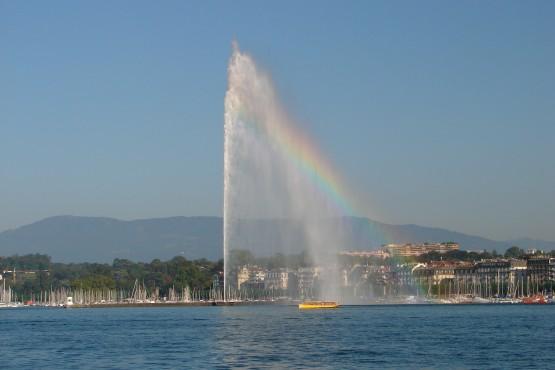 Ginebra-Leman-fuente