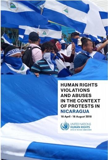 informe ONU Nicaragua 2018