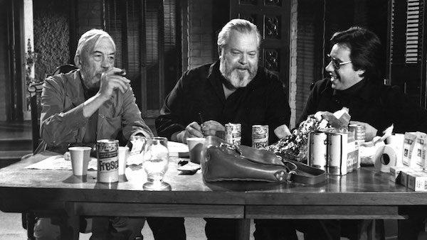 John Huston, Orson Welles y Peter Bogdanovich