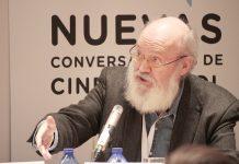 José Luis Cuerda en Nuevas conversaciones de cine, SGAE Salamanca. Foto: Anabela Medrano Heredia