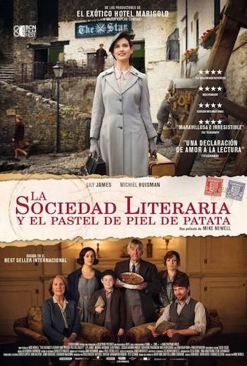 la sociedad literaria de la patata cartel
