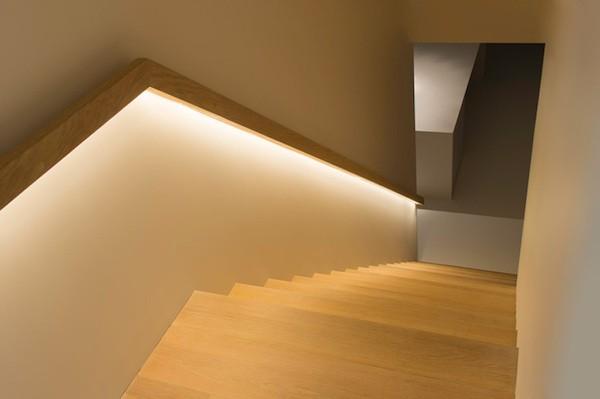 led para escaleras