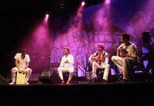 Kiki Morente y Juan Habichuela Nieto en concierto. Cuarta gala del Festival del Cante de las Minas de la Unión 2016.