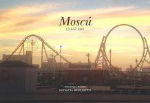 Moscú, 3442 km, cartel