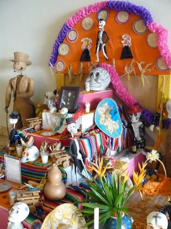 Altar del Día de los muertos, Michoacan
