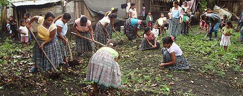 mujeres rurales Guatemala globalhumanitaria Mujeres rurales en Guatemala
