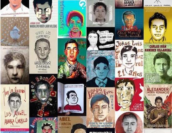 normalistas-Los-43-carteles