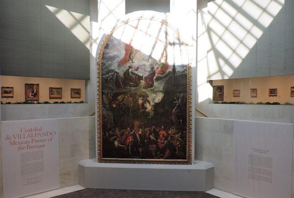 Exposición sobre Cristóbal Villalpando en el Museo Metropolitano de Nueva York