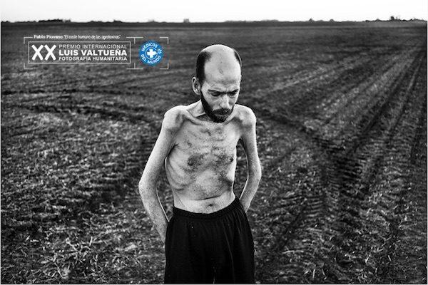 """Pablo E. Piovano, fotografía de la serie """"El coste humano de las agrotoxinas"""""""