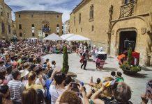 Feria de Teatro de Castilla y León, Fachada del Palacio de los Ávila y Tiedra