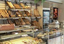 Típica panadería Pastelería marroquí.
