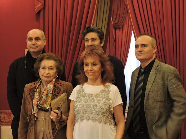Pierr Audi, David Afkham, I. Penagos, Ginastera y Joan Matabosch en el Teatro Real de Madrid,