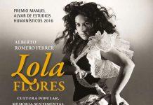 Portada del libro sobre Lola Flores, cultura popular