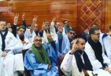 Presos saharauis en juicio